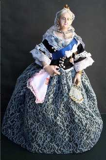 Old Queen Victoria doll by Alesia